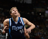 2014 NBA Playoffs Game 2: Apr 23, Dallas Mavericks vs San Antonio Spurs - Dirk Nowitzki Photo by Garrett Ellwood