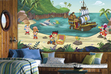 Jake and the Never Land Pirates Prepasted Mural Wall Mural