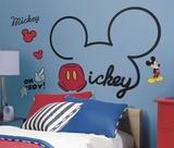Topolino e amici - Tutto su Topolino gigante (sticker murale) Decalcomania da muro