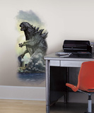 Godzilla City Wall Graphix Peel and Stick Wall Decals Vinilo decorativo
