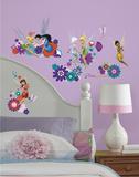 Disney Fairies - Best Fairy Friends Peel and Stick Wall Decals Kalkomania ścienna