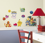 Pokemon Iconic Peel and Stick Wall Decals Wall Decal