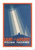 Light in August by William Faulkner Kunstdruck