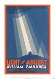 Light in August by William Faulkner Print