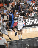 2014 NBA Playoffs Game 2: Apr 23, Dallas Mavericks vs San Antonio Spurs - Vince Carter Photographic Print by D. Clarke Evans