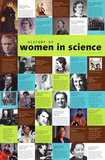 Women in Science Poster Print