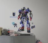 Transformers: Age of Extinction Optimus Prime Peel and Stick Giant Wall Decals Wall Decal