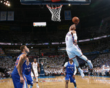 2014 NBA Playoffs Game 2: May 7, Los Angeles Clippers vs Oklahoma City Thunder - Russell Westbrook Photographic Print by Layne Murdoch