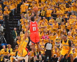 2014 NBA Playoffs Game 7: May 3, Atlanta Hawks vs Indiana Pacers - Shelvin Mack Photographic Print by Jesse D. Garrabrant