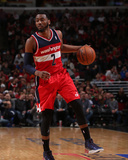 2014 NBA Playoffs Game 5: Apr 29, Washington Wizards vs Chicago Bulls - John Wall Photographie par Gary Dineen