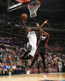 2014 NBA Playoffs Game 4: Apr 28, Miami Heat vs Charlotte Bobcats - Michael Kidd-Gilchrist Photographic Print by Kent Smith