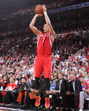 2014 NBA Playoffs Game 6: May 2, Houston Rockets vs Portland Trail Blazers - Jeremy Lin Photo by Sam Forencich
