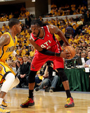 2014 NBA Playoffs Game 7: May 3, Atlanta Hawks vs Indiana Pacers - DeMarre Carroll Photo by Ron Hoskins