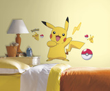 Pokemon Pikachu Peel and Stick Wall Decals Wall Decal