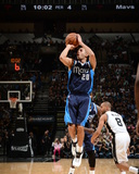 2014 NBA Playoffs Game 2: Apr 23, Dallas Mavericks vs San Antonio Spurs - Devin Harris Photographic Print by Garrett Ellwood