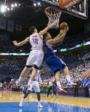 2014 NBA Playoffs Game 2: May 7, Los Angeles Clippers vs Oklahoma City Thunder - Blake Griffin Photographic Print by Richard Rowe