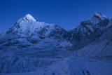 Hiking into the Khumbu Icefall at Night Photographic Print by Andy Bardon