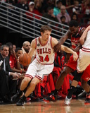 2014 NBA Playoffs Game 5: Apr 29, Washington Wizards vs Chicago Bulls - Mike Dunleavy Photographic Print by Gary Dineen