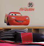 Cars - Lightning McQueen Number 95 Peel and Stick Giant Wall Decals Wall Decal