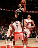 2014 NBA Playoffs Game 7: May 4, Brooklyn Nets vs Toronto Raptors - Deron Williams Photo by Ron Turenne
