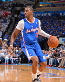2014 NBA Playoffs Game 2: May 7, Los Angeles Clippers vs Oklahoma City Thunder - Chris Paul Photographic Print by Jesse D. Garrabrant
