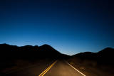 A Desert Road at Night Photographic Print by Ben Horton