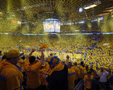 2014 NBA Playoffs Game 6: May 1, Los Angeles Clippers vs Golden State Warriors Fotografisk trykk av Rocky Widner