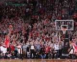 2014 NBA Playoffs Game 6: May 2, Houston Rockets vs Portland Trail Blazers - James Harden Photo by Sam Forencich