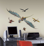 How to Train Your Dragon 2 Astrid & Stormfly Peel and Stick Giant Wall Decals Wall Decal