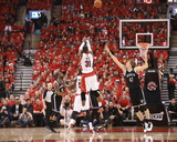 2014 NBA Playoffs Game 7: May 4, Brooklyn Nets vs Toronto Raptors - Terrence Ross Photographic Print by Dave Sandford