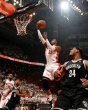 2014 NBA Playoffs Game 7: May 4, Brooklyn Nets vs Toronto Raptors - Terrence Ross Photographic Print by Ron Turenne