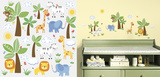 Jungle Friends Peel and Stick Wall Decals Wall Decal