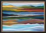 Serenity Framed Giclee Print by Hyunah Kim