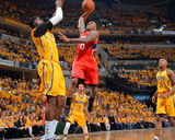 2014 NBA Playoffs Game 7: May 3, Atlanta Hawks vs Indiana Pacers - Jeff Teague Photographic Print by Jesse D. Garrabrant