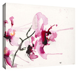 Orchids III Gallery-Wrapped Canvas Stretched Canvas Print by Karin Johannesson