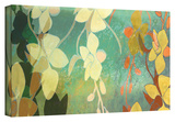 Shadow Florals Gallery-Wrapped Canvas Stretched Canvas Print