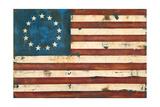 Antique Flag Kunstdrucke von Melissa Lyons