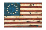 Antique Flag Prints by Melissa Lyons