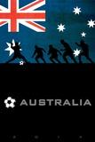Brazil 2014 - Australia Print
