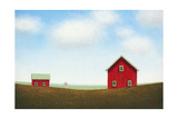 Red Barn Prints by Sharon France