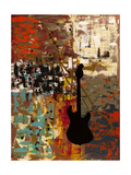 Guitar Quest Giclee Print by Carmen Guedez