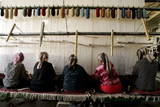 Hand-Made Carpet Factory in Khotan, Xinjiang Uighur Autonomous Region Photographic Print by Michael Reynolds