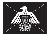 Eagle Espresso Prints by  Monorail Studio