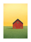 Red Barn Posters by Sharon France