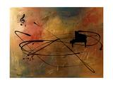 Solo Piano Gicléedruk van Carmen Guedez