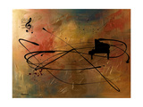 Solo Piano Giclee Print by Carmen Guedez