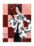 Vogue Cover - October 1936 Premium Giclee Print by Eduardo Garcia Benito