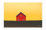 My Big Red Barn Prints by Sharon France