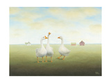 A Little Gander Print by Sharon France