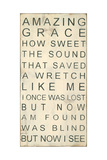 Amazing Grace Posters by Melissa Lyons